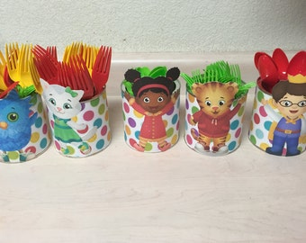 Daniel Tiger Utensil Holders