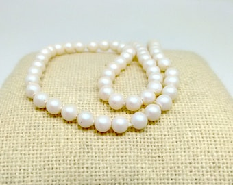 4mm Crystal Pearl, Swarovski Bead, Pearlescent White Pearl, 5810, Loose Beads, Large White Bead, Imitation Pearls, Beading Supplies, YC4449A