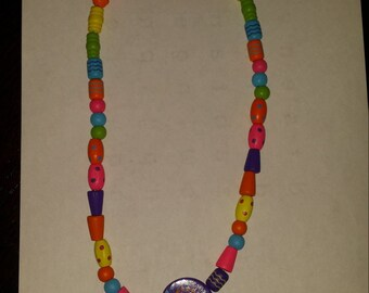 Happy necklace for a girl