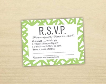 Stain Glass RSVP