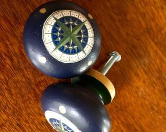 Compass Rose Furniture/Cabinet Knob