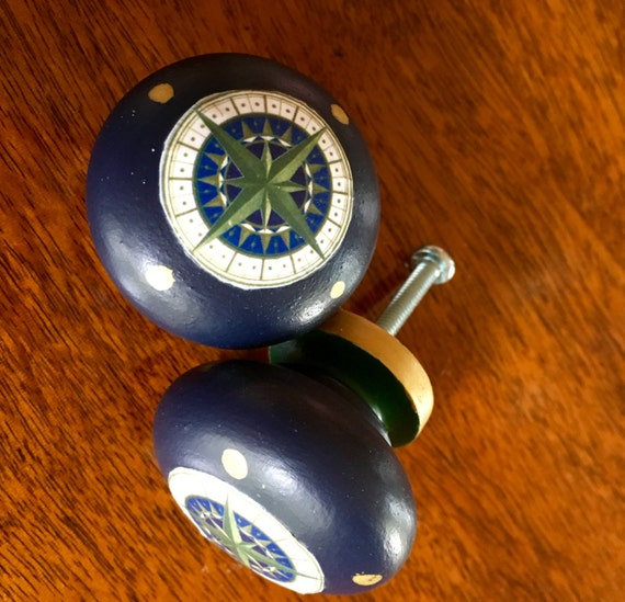 Compass Furniture: Compass Rose Furniture/Cabinet Knob