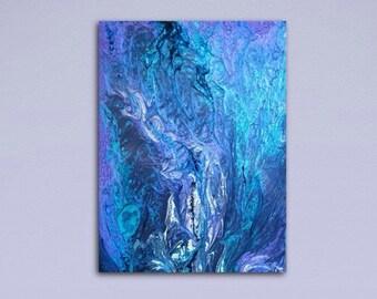 Original Abstract Painting, Modern Art, Wall Decor, Contemporary Art,  by Artist Renee Mendler,
