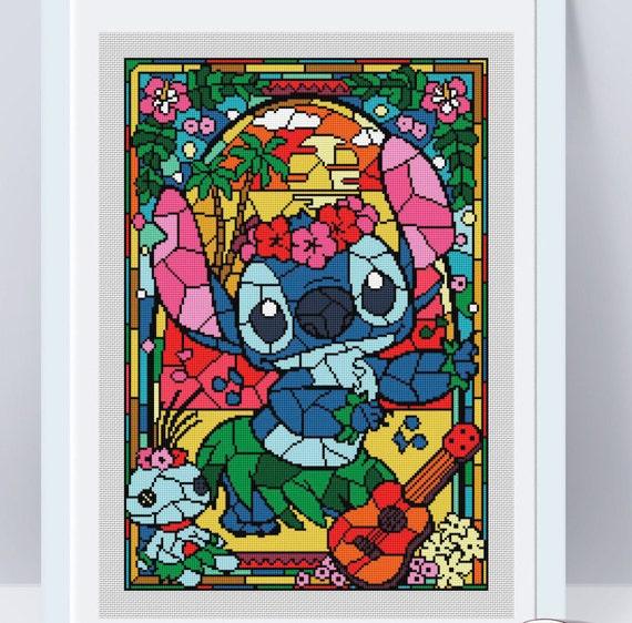 Lilo and Stitch cross stitch pattern