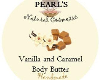 Vanilla and Caramel Body Butter