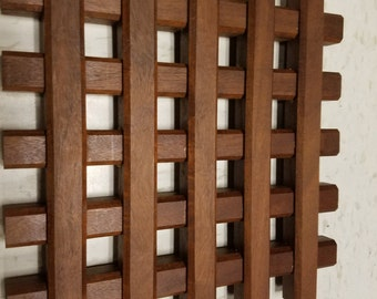 Ipe wooden trivet, hot plate, wood trivet