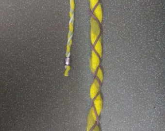Hair dread/brad (accessory with clip)