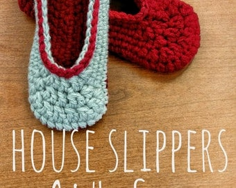 House Slippers - Adult Sizes