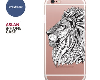 Lion iPhone Case, iPhone 6 Case, Lion iPhone 7 Case, Lion iPhone 6s Plus Case, Lion iPhone 6 Case, Lion iPhone 6+ Case (Shipped From UK)