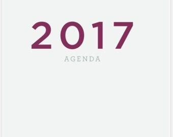 2017 Agenda/Planner