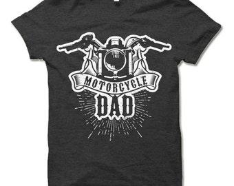 Motorcycle Dad T Shirt. Biker Dad Gift. Father's Day T-Shirt. Biker Gift.