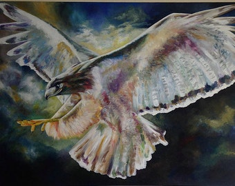Falcon Painting   Acrylic on Canvas