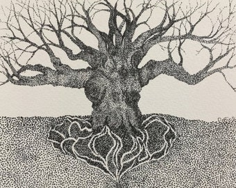 Heart Tree--Signed and Numbered Print