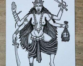 A3 Kali Print