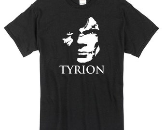 Tyrion T-Shirt black Game of Thrones Tyrion Lannister 100% cotton