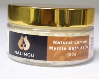 Lemon Myrtle Bath Salts