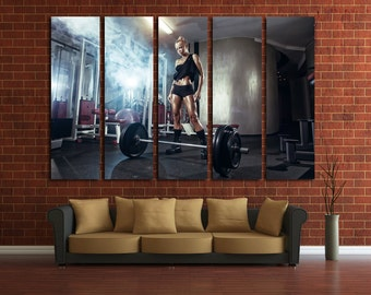 fitness motivation workout motivation crossfit gym motivation gym decor gym wall decor gym wall art gym art home gym decor gym print barbell