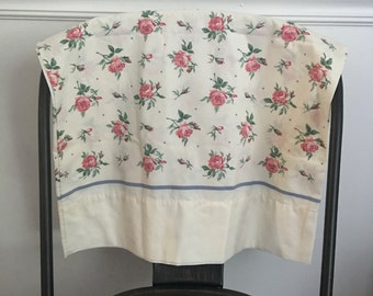 Vintage rose pillowcase
