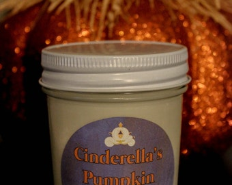 Cinderella's Pumpkin Carriage 100% Soy Candle Disney Inspired