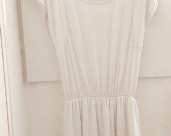 White ceremony Dress T38/40/M