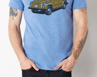 VW The Thing: Adult's Soft Blend T-Shirt