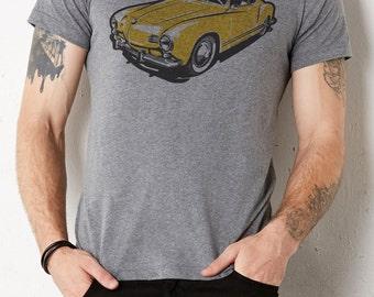 VW Kharmann Ghia: Adult's Tri-Blend T-Shirt