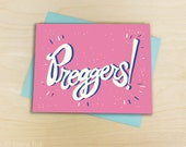 Expecting Pregnancy Baby Congratulations Greeting Card