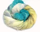 Soft Rain- Handpainted Yarn- Dye to Order, Sock, Fingering, Sport, Bulky