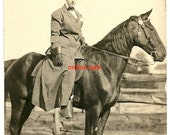 Vintage horse photo equestrian lady rider derby farm antique image