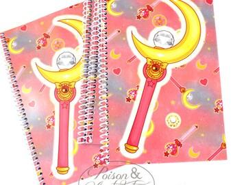 Moon Spiral Notebook Attack!