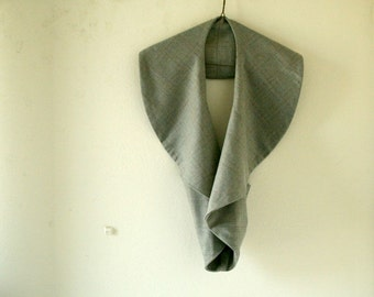 READY TO SHIP / grey wool vest / limited edition / women / autumn winter / eco / etsy australia / handmade by pamelatang