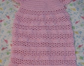 V-Stitch Stripes Sweet Pea or Infant Sleep Bag Crochet Pattern