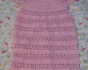 Crochet Pattern - V-Stitch Stripes Sweet Pea Pattern - Baby Cocoon Pattern - Sleep Bag or Sac Pattern - Pj Pattern- Digital Download