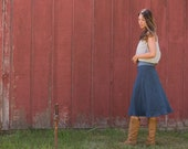Organic Linen Essential Day Skirt