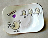 NONNA Trinket  Dish Mothers Day 3 birdies Mothers Day Gift