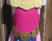 Reserved listing for Javier Zelda Wind Waker Inspired Princess Dress Costume  Collection - Custom Order