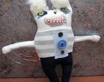 Primitive Folk Art Doll Jerri