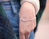 Love Charm Bracelet. Love bracelet. Engagement bracelet. Love charm bracelet. Saint Valentine Love Bracelet. Romantic Love Bracelet. Love
