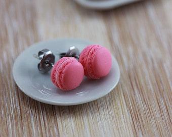 Micro Macaron Studs / Post Earrings