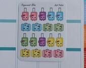 Travel Suitcase Handbag Cute Kawaii PLANNER STICKERS