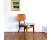 Mid Century Teak Chair - 1950s Teak Chair -