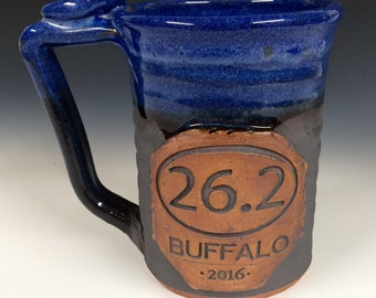 Marathon mug, 20-24 oz, made to order