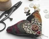 "Moth Pincushion ""Mulberry Moth [III]"""