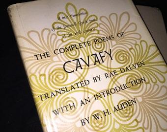 1961 Cavafy Poem Book