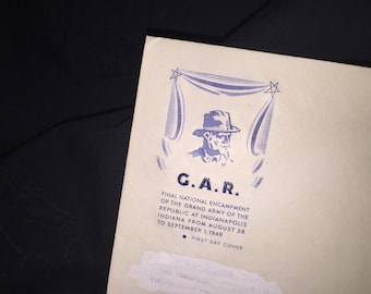 1949 Air Mail C.A.R. First Day Issue Envelope
