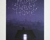 Home Sweet Home - A4 Digital Print - Illustration