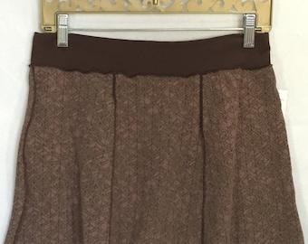 Large Dance Yoga coverup mini skirt - UPCYCLED MINI Skirt- one of a kind, panel skirt, festival clothing, dance, beach coverup
