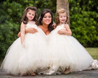 Tutu Dress As Seen in Martha Stewart Weddings, Stylemepretty Flower Girl tutu, Tulle Dress, Tutu Dress Baby, Tutu Dress Toddler Tutu Dresses