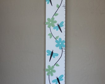 Personalized Wooden Cherry Blossom Flower Growth Chart