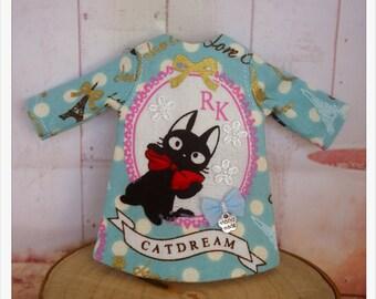LADYBIRD HOUSE Blythe Outfit Black Cat Dress - B